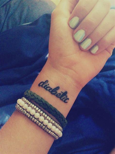 t1d tattoo my id type1diabetes my obsessions