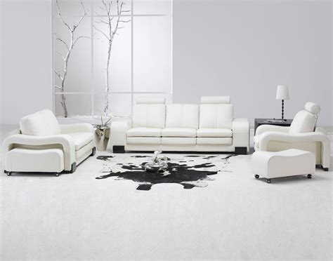 26 Modern Style Living Rooms Ideas In Pictures 171 Home Living Room Ideas With White Leather Sofa
