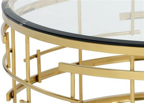 gold metal coffee table cielo gold metal coffee table 101485 sunpan modern home
