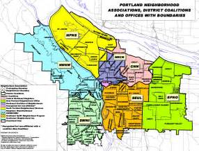 portland neighborhood associations district coalitions