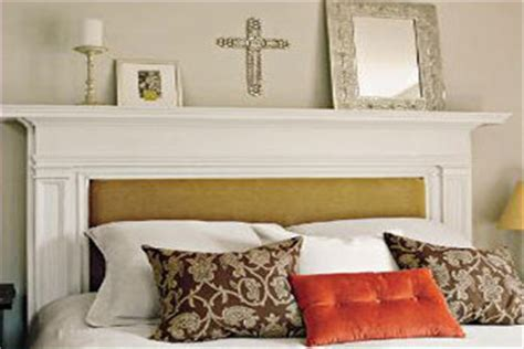 Diy Mantel Headboard by How To