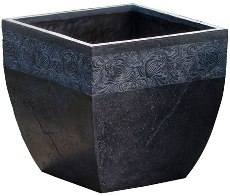 square outdoor planters outdoor square planter in outdoor planters