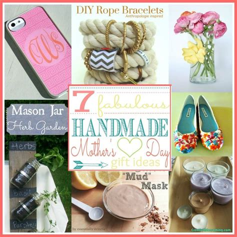 Mothers Day Handmade Gifts - handmade mother s day gift ideas