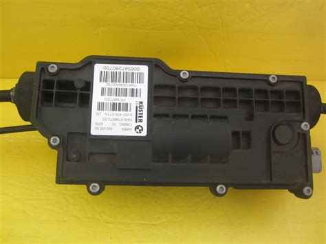 bmw x5 actuation unit