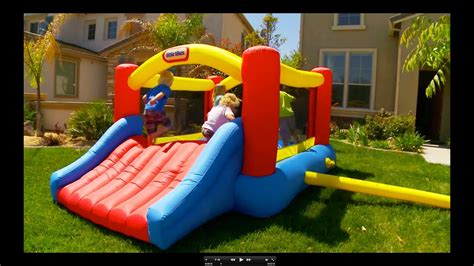 Jumpy Houses by Tikes Jump N Slide Bouncer