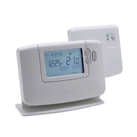 best programmable room thermostat honeywell cmt921 wireless 24hr programmable room thermostat