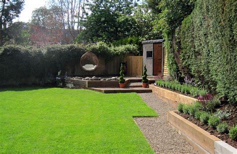 Terraced Backyard Landscaping Ideas Ideal Gardens Burbage Hinckley Garden Design And