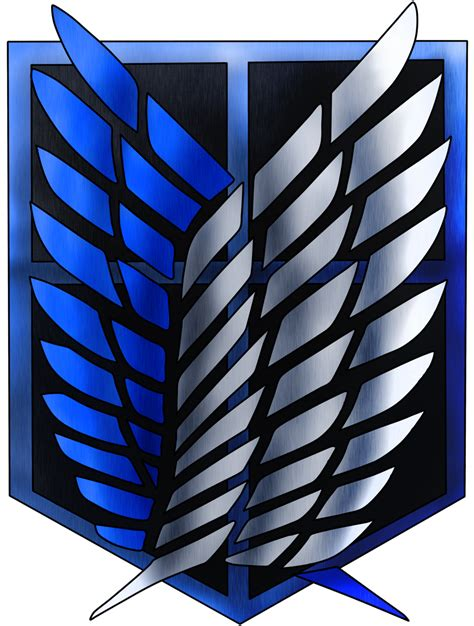 Kaos Scouting Legion Attack On Titan Wings Anime attack on titan scouting legion by knight133 on deviantart