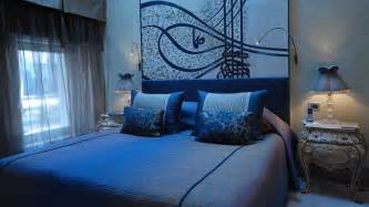 Bedroom Design Ideas In Blue Hotel Les Ottomans Marmara Turkey