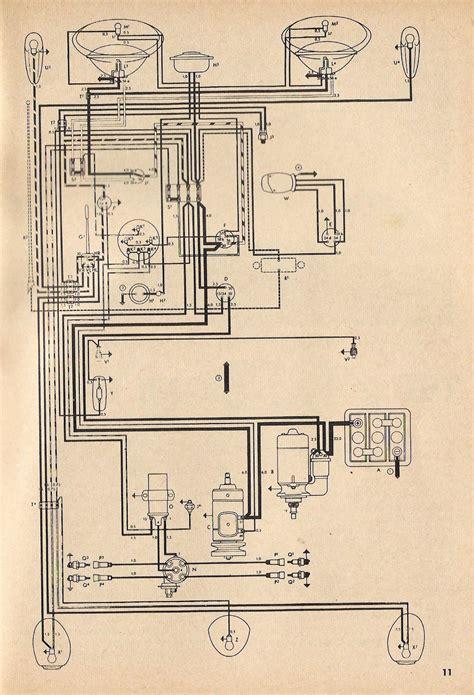 1969 vw beetle wiring diagram techrush me