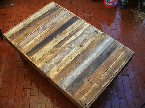 large rustic reclaimed wood coffee table dining table or