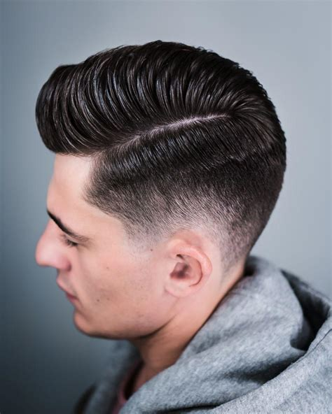 blast fade hairstyle pompadour haircuts