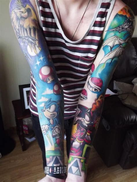gamer tattoos 89 best nintendo tattoos i like images on