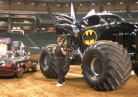 batman monster jam truck monster jam star car central famous movie tv car news