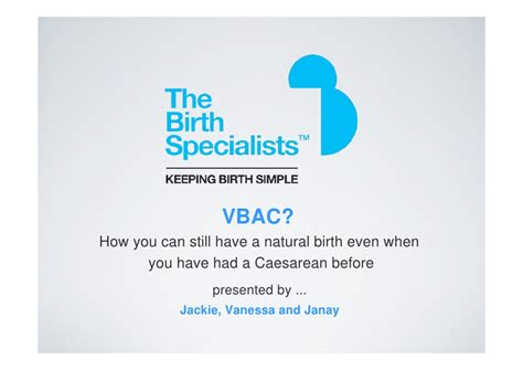 vbac 1 year after c section vbac how to have a natural birth after a previous