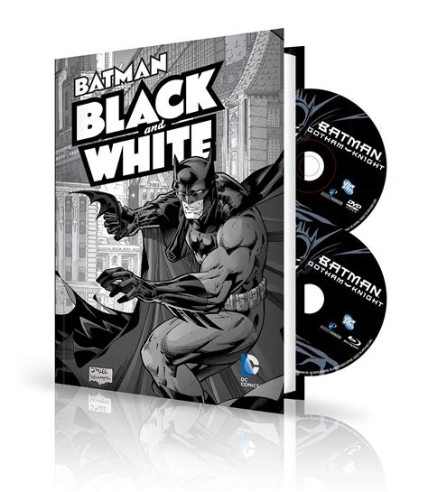 white detective connors volume 1 books batman black white vol 1 book dvd bluray set