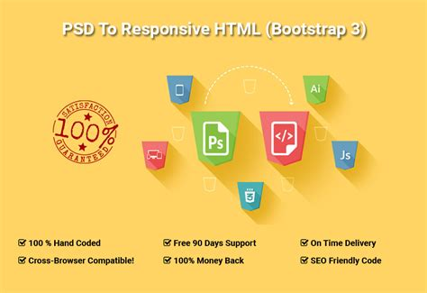 psd to html convert how to bootstrap tutorial for convert your psd to responsive html5 css3 webpage using