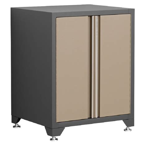 newage garage cabinets shop newage products pro 28 in w x 34 5 in h x 24 in d steel garage cabinet at lowes