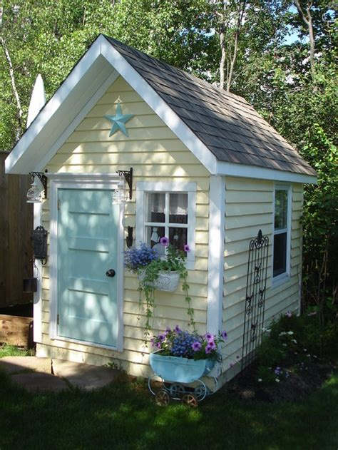 pretty shed i m curious if we can see an interior view of this cute