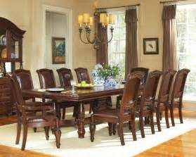Dining Rooms Sets Steve Silver Antoinette 11 Piece 96x48 Dining Room Set