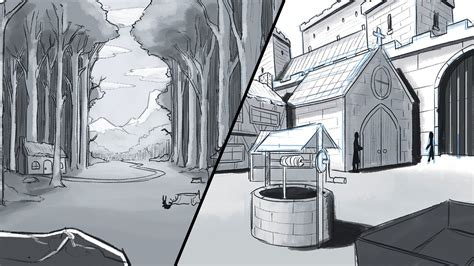 Drawing Backgrounds by How To Draw A Background Environments And Landscapes