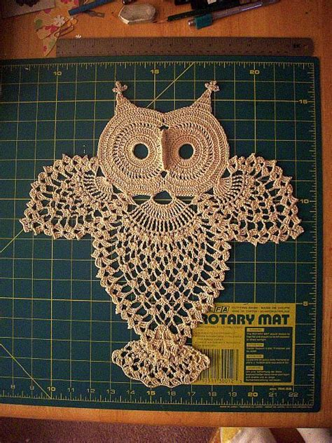 vintage owl pattern just completed a vintage owl diagram pattern found on