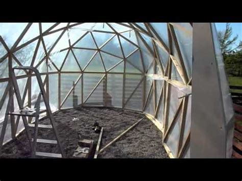 tunnel dome build part  youtube
