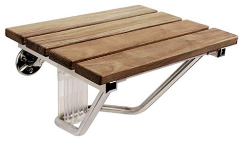 wall mounted folding bench seat f wood folding wall mounted shower seat bench by steamspa