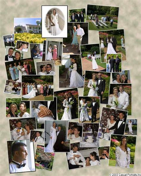wedding storyboard casual portraits inc all you need to do is smile tm