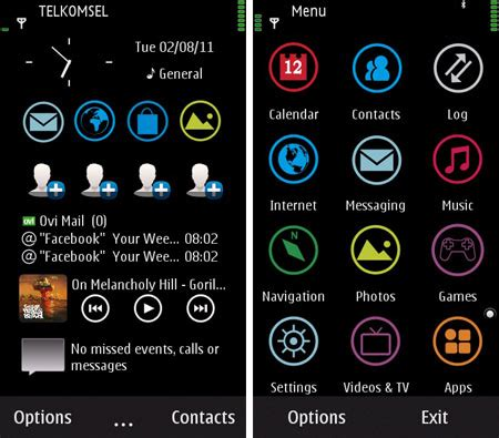 themes for mobile phones mobile phones s60v5 theme retro beta
