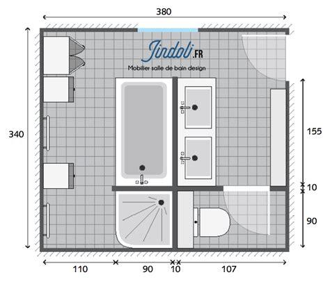 Salle De Bain De 6m2 4583 salle de bain de 6m2 id e d coration salle de bain salle