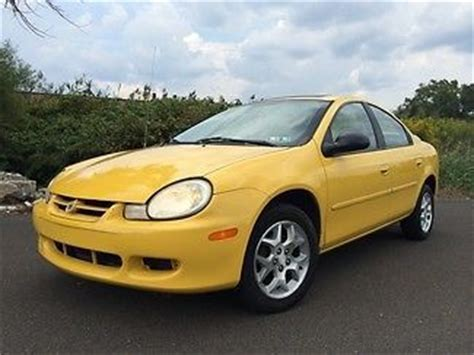 2002 dodge neon 2 0l fi sohc 4cyl repair guides anti purchase used 2002 dodge neon sxt clean sunroof power options new tires no smoke pets in