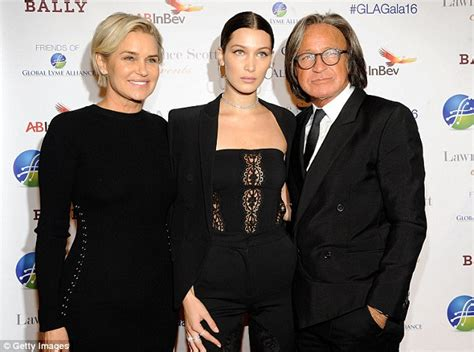 shiva safai 2011 mohamed hadid steps out with gorgeous fiancee shiva safai