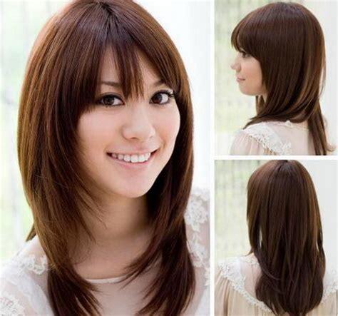 trendy layered hairstyles in seoul women layered haircut