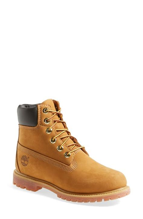 nordstrom timberland boat shoes timberland 6 inch premium waterproof boot women