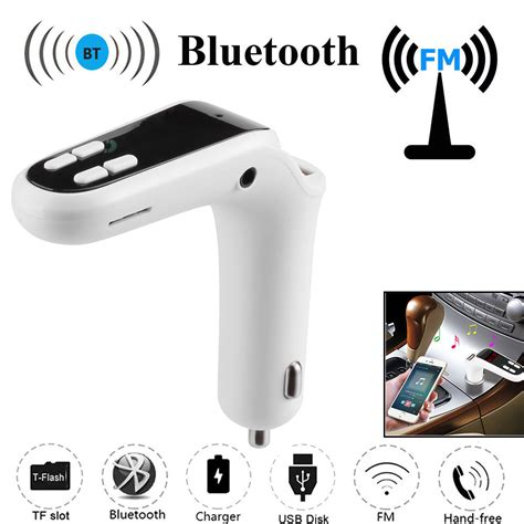 T6s Car Charger Adapter Bluetooth Mp3 Player Fm Transmi Diskon car fm transmitter bluetooth free lcd mp3 player radio adapter kit charger ebay