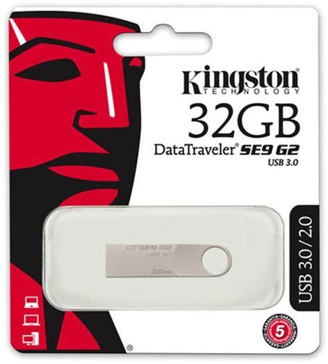 Kingston Usb 3 0 32gb kingston datatraveler se9 g2 32gb usb 3 0 dtse9g2 32gb