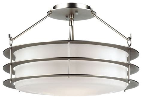 deco forecast silver 18 quot ceiling light