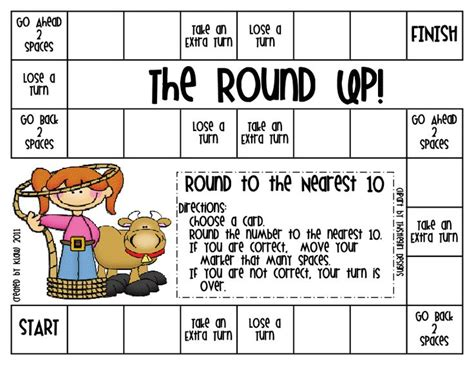 printable games for rounding numbers 14 best math rounding numbers images on pinterest