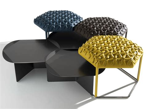 table pouf pouf coffee table hive by b b italia design atelier o 239