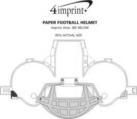paper helmet template paper football helmet item no 113610 from only 49c