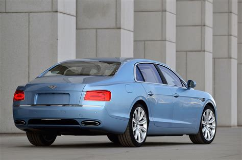 bentley flying spur coupe 2014 bentley flying spur rear three quarters photo 2