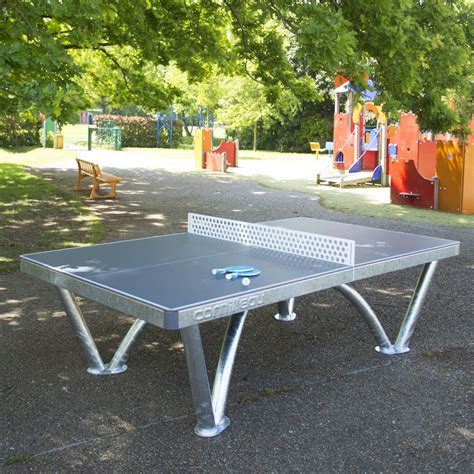table cornilleau outdoor cornilleau park permanent static outdoor table tennis table