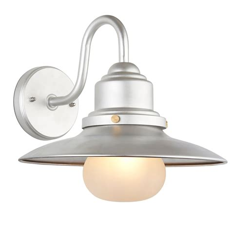 Outdoor Light Fittings Uk Endon Lighting Salcombe Outdoor Single Light Wall Fitting In Zinc Finish With Frosted Glass