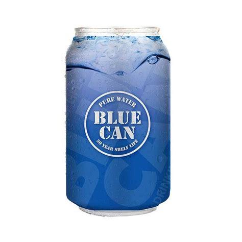 Shelf Water by Blue Can 50 Year Shelf Water Total Prepare Inc Canada