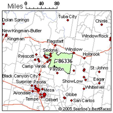 zip code map yavapai county sedona az zip code map my blog