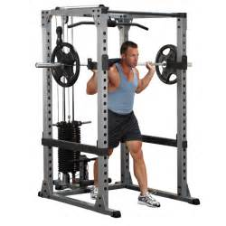 Smith Machine Weight Bench Gpr378 Body Solid Pro Power Rack Body Solid Fitness