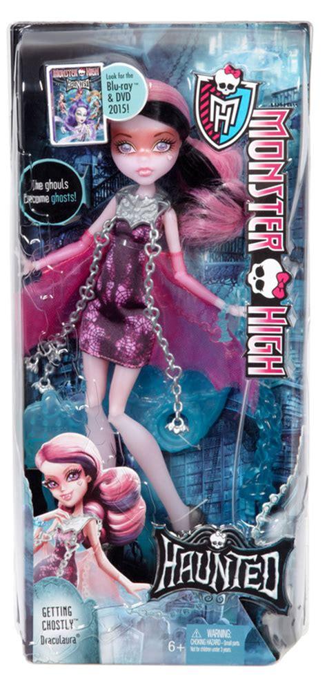 haunted high dolls names high haunted getting ghostly draculaura 174 doll