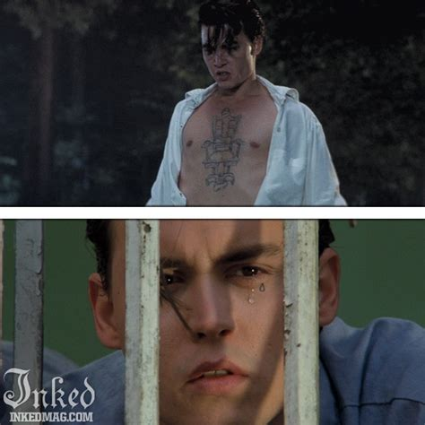johnny depp cry baby tattoo 40 best cry baby images on pinterest cry baby 1990 cry