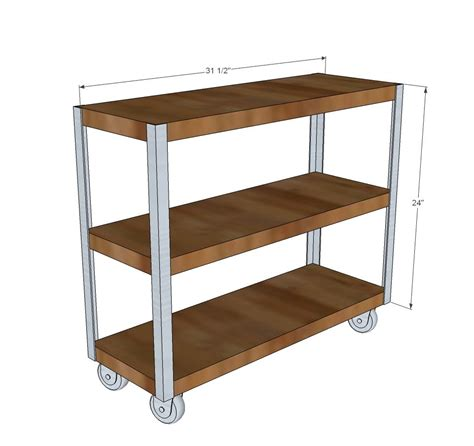 pin by ana white on kitchen tutorials pinterest ana white build a easiest industrial cart free and